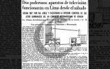 Así Ocurrió: En 1950 los primeros televisores llegan a Lima