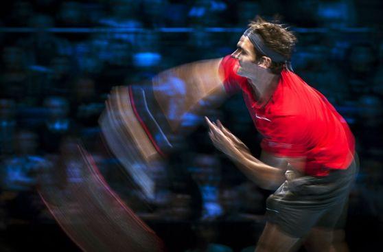 El juego perfecto de Federer para vencer a Murray en Londres