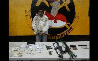 Ayacucho: detienen a presunto terrorista primo de 'Alipio'