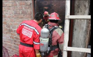 Trujillo: niño provocó incendio por jugar con fósforos