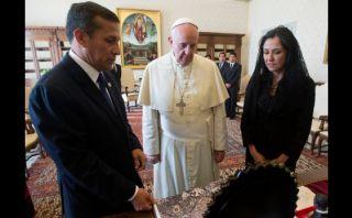 Humala le pide al Papa que nos ayude a llegar al Mundial