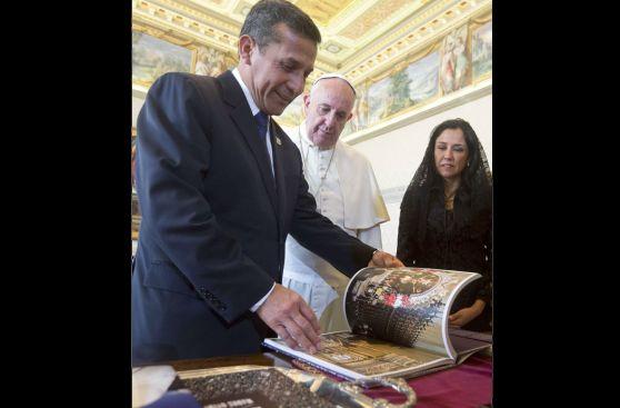 El Papa y Humala analizaron en el Vaticano el desempleo juvenil