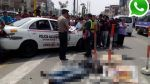 Vía WhatsApp: Camión arenero arrolló a motociclista en Av. Perú - Noticias de accidentes de tránsito