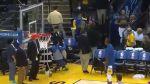 NBA: Stephen Curry y un espectacular triple ¡desde las gradas! - Noticias de comentarista