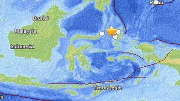 Indonesia: Sismo de magnitud 7,3 activa la alerta de tsunami