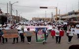 Cañete: Cientos marcharon por muerte de Fernando Raymondi
