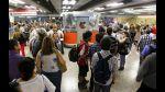 Chile: Falla en el metro provocó caos en Santiago - Noticias de fallas en el metropolitano