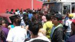 Cúster de Orión atropelló y mató a señora en Av. Perú en SMP - Noticias de choque de buses