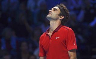 Roger Federer se retiró de la final del Masters de Londres