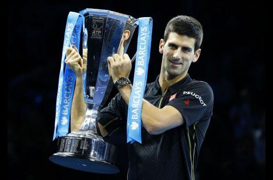 Federer llegó al O2 Arena a despedirse del Masters de Londres