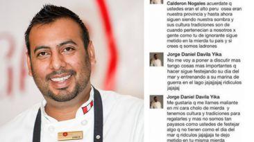 Facebook: Chef peruano es despedido por ofender a bolivianos