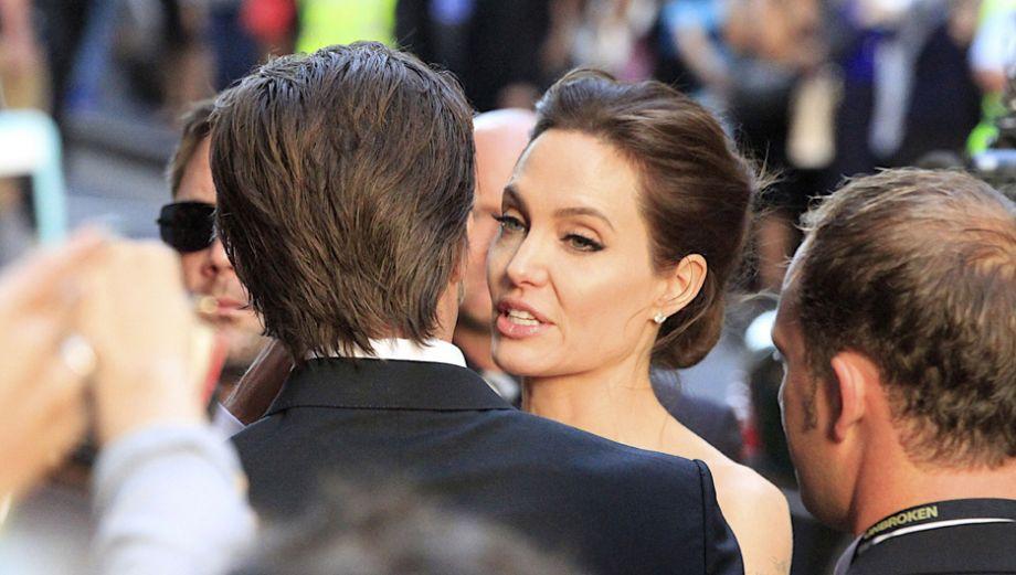 """Angelina Jolie y Brad Pitt juntos en la premiere de """"Unbroken"""""""