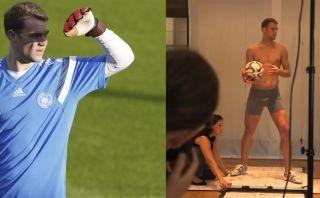 Manuel Neuer criticó posar en calzoncillos... y también lo hizo