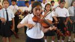 La melodiosa sinfónica de los niños del balneario de Lobitos - Noticias de clases escolares