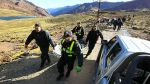 Cuatro personas murieron asfixiadas bajo toneladas de aserrín - Noticias de vuelco