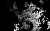 Cometa 67P es duro como el hielo y tiene moléculas orgánicas