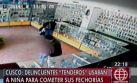 Cusco: falsos esposos hacen llorar a niña para robar celulares