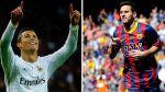 CR7 vs. Messi: los dos mejores jugadores del mundo enfrentados - Noticias de amistosos internacionales