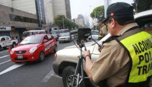 Fotopapeletas se aplicarán las 24 horas en cuatro vías de Lima