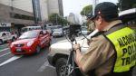 Fotopapeletas se aplicarán las 24 horas en cuatro vías de Lima - Noticias de accidentes de tránsito