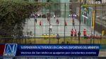 San Isidro: cancha del Mininter anulada por ruidos molestos - Noticias de municipalidad de san isidro