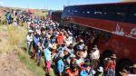 Paro en Puno: manifestantes bloquearon de nuevo vía hacia Cusco - Noticias de ayaviri