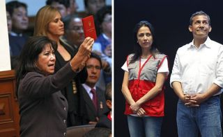 "Martha Chávez tildó a Ollanta Humala de ""fantoche"" de Nadine"