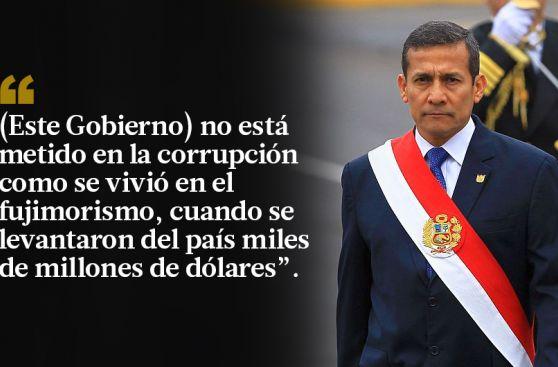 Ollanta Humala: las frases con las que criticó al fujimorismo
