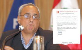 Carta de Manuel Burga: ¿no se presentará a las elecciones?