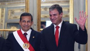 """Humala basó """"en la historia"""" sus críticas al fujimorismo"""