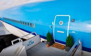 Este avión comercial se ha convertido en un exclusivo cuarto