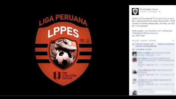 (Foto: Facebook de Pro Evolution Soccer)