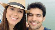 Karen Schwarz y Ezio Oliva llevan su amor a los negocios