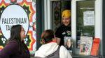El restaurante amenazado por servir comida palestina en EE.UU. - Noticias de bbc mundo