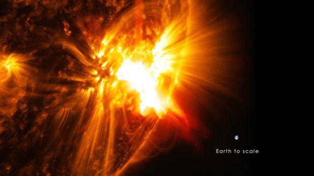 Detectan mancha solar 66 veces más grande que la Tierra