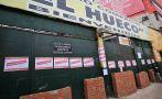 'El Hueco': comerciantes subsanan faltas de seguridad [FOTOS]