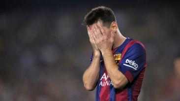 Messi molesto con Barcelona por estos motivos