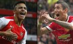 Arsenal vs. Manchester United: chocan en la Premier League