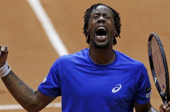 Copa Davis: el lamento de Roger Federer y la euforia de Monfils