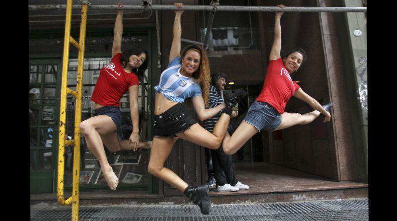 Se trata de la séptima edición del Campeonato Sudamericano de Pole Dance y Pole Sport que se realiza en Argentina. (EFE)