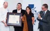 Gastón Acurio recibe reconocimiento en Le Cordon Bleu de París