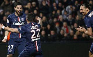 PSG sumó su quinta victoria consecutiva y lidera en Francia