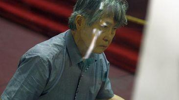 Rechazaron pedido de arresto domiciliario para Alberto Fujimori