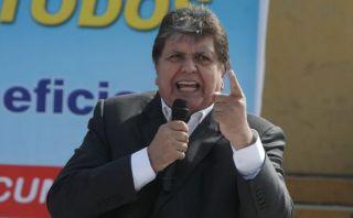 Alan García deploró expresiones de Humala contra el fujimorismo