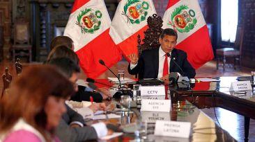Periodistas extranjeros critican conferencia de Ollanta Humala