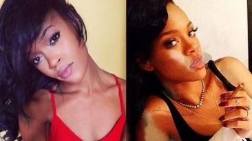Rihanna: esta joven gana dinero por parecerse a cantante
