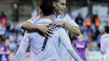 Real Madrid vs. Eibar: blancos ganaron 4-0 en Liga BBVA [VIDEO]