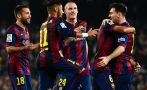 Messi es el máximo goleador en la historia de la Liga española