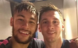 Instagram: Neymar felicita a Lionel Messi con un selfie [FOTO]