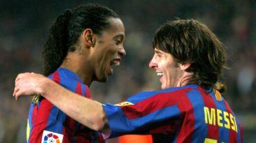 Facebook: Messi recordó su primer gol con el Barcelona [VIDEO]